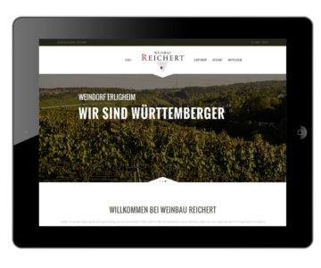 Weinbau Reichert iPad