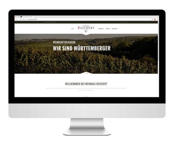 Weinbau Reichert Desktop