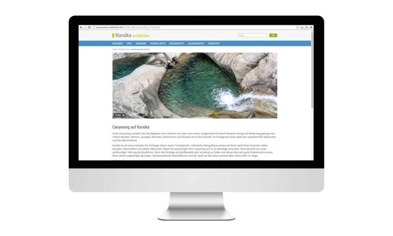 Korsika entdecken Desktop