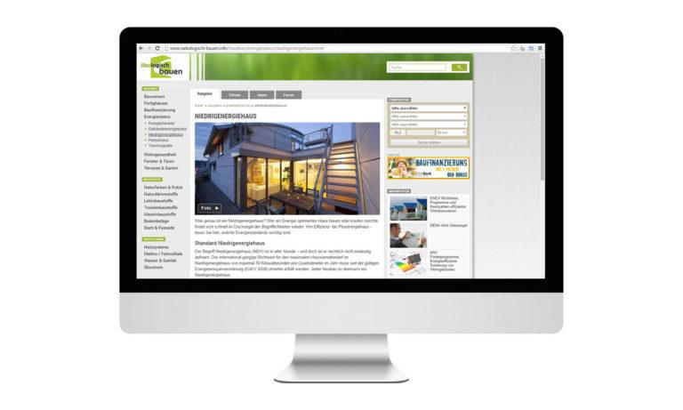 Ökologisch Bauen Desktop