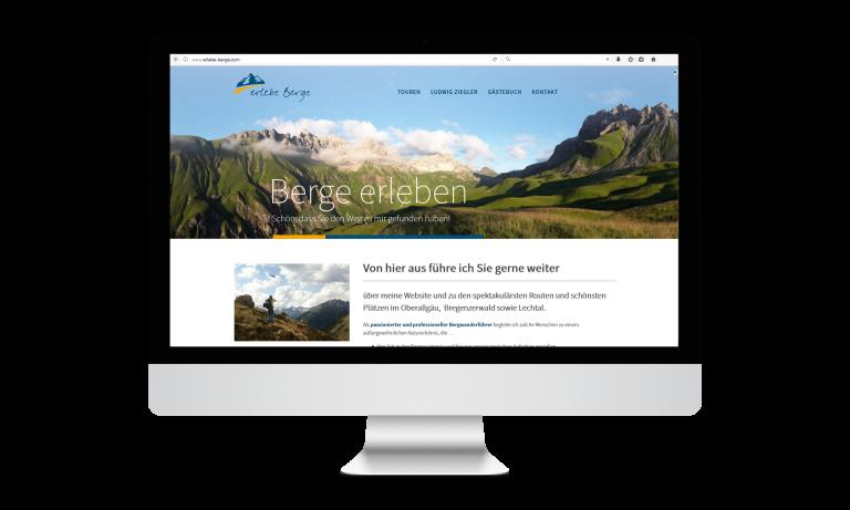Erlebe Berge Desktop
