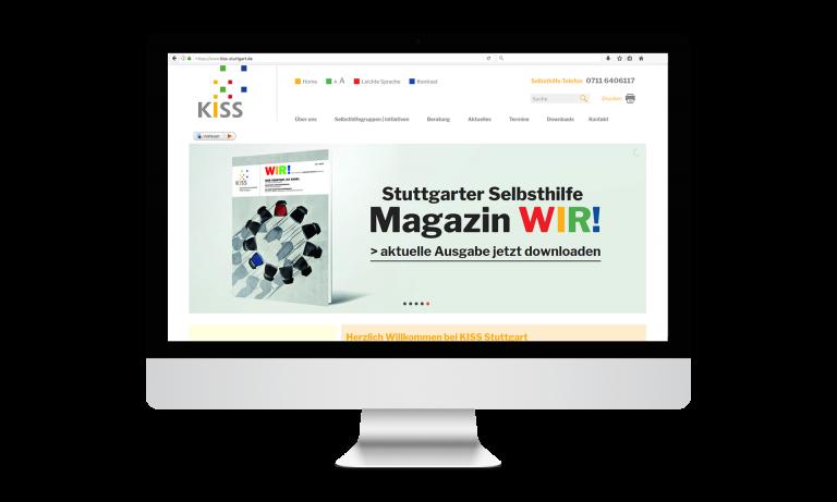 KISS Stuttgart Desktop