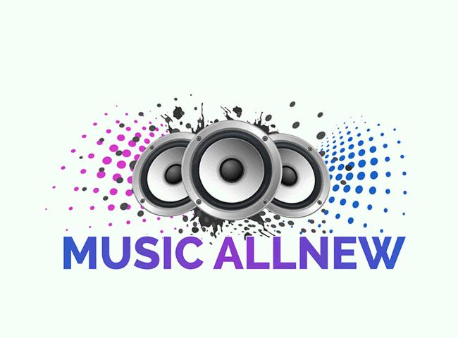 Logo music allnew